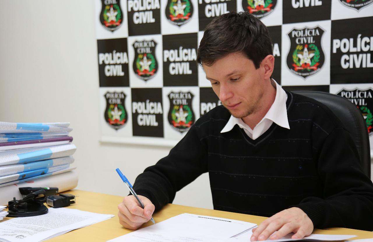 Delgado Juliano Baesso conduziu o cumprimento do mandado de prisão preventiva de Paulo Odilon Xisto Filho