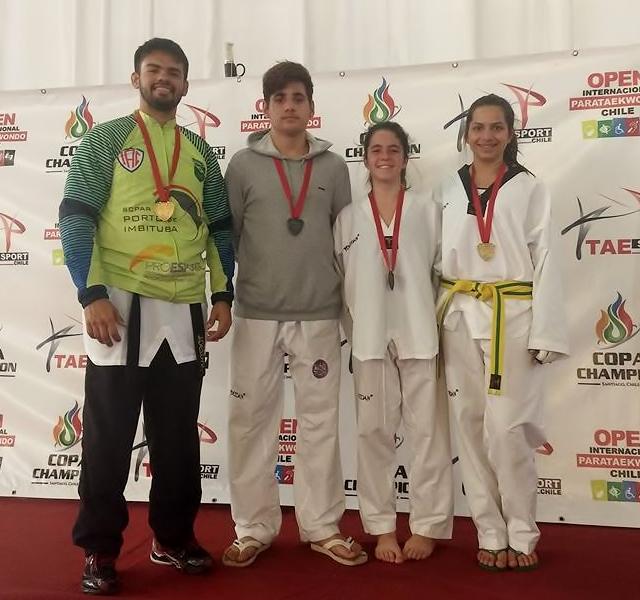 IAC Taekwondo Chile medalhas