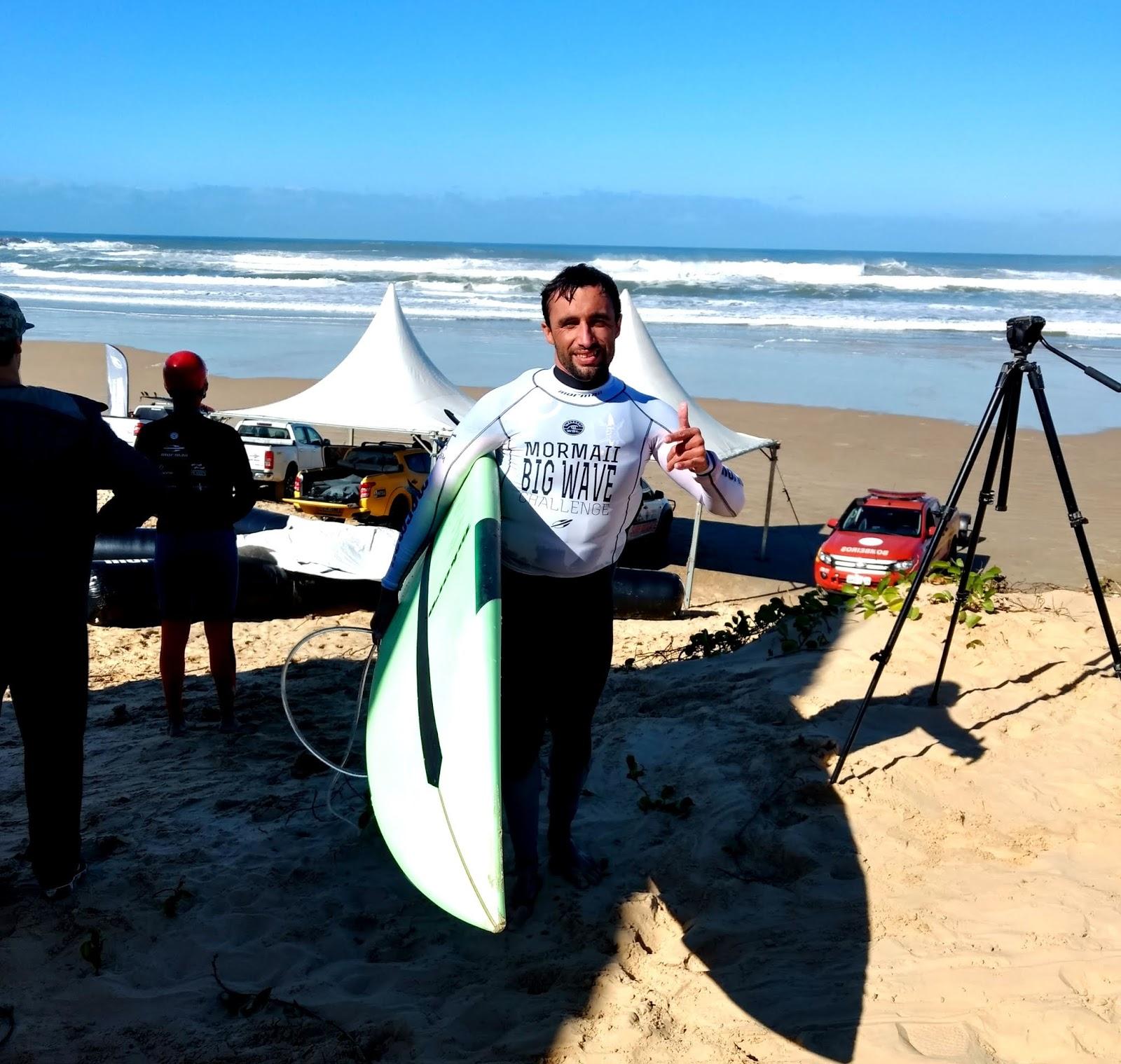 Caíque Guimarães levou, mais uma vez, o nome de Imbituba  para esta competição de coragem e preparo físico. Foto: Eduardo Rosa.