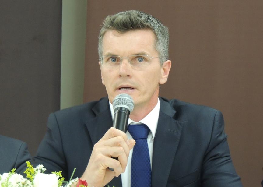 Welton Rübenich, juiz da 1ª Vara da Comarca de Imbituba