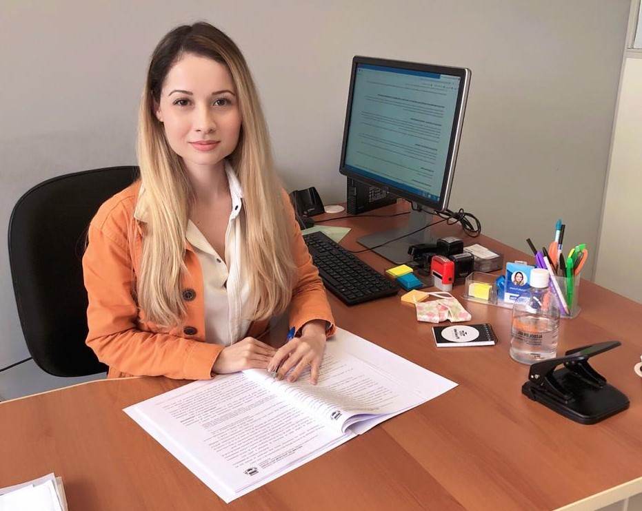 Advogada, Dr, Michelle Furtado é a Diretora do Procon Municipal de Imbituba