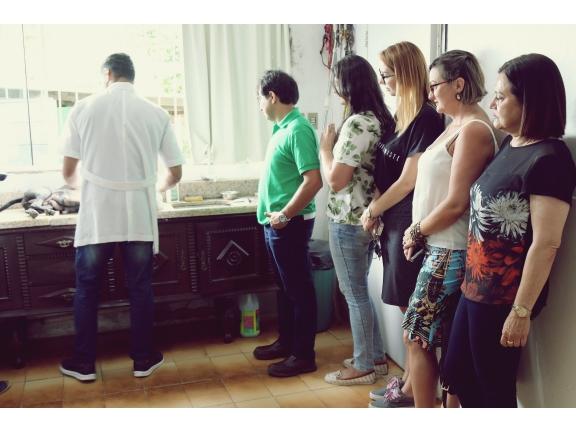 Secretária de Saúde, Graciela Wiemes e Diretora Camila Pires Fermino também conferem in loco os trabalhos