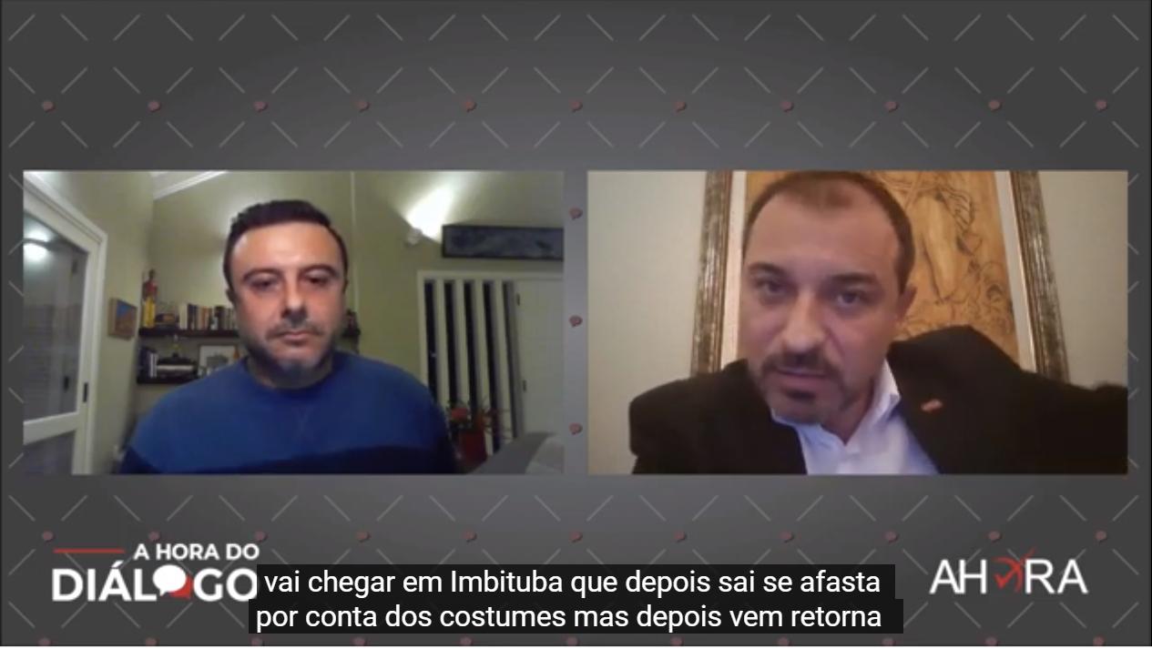 Governador Carlos Moisés da Silva foi o entrevistado do programa de estreia
