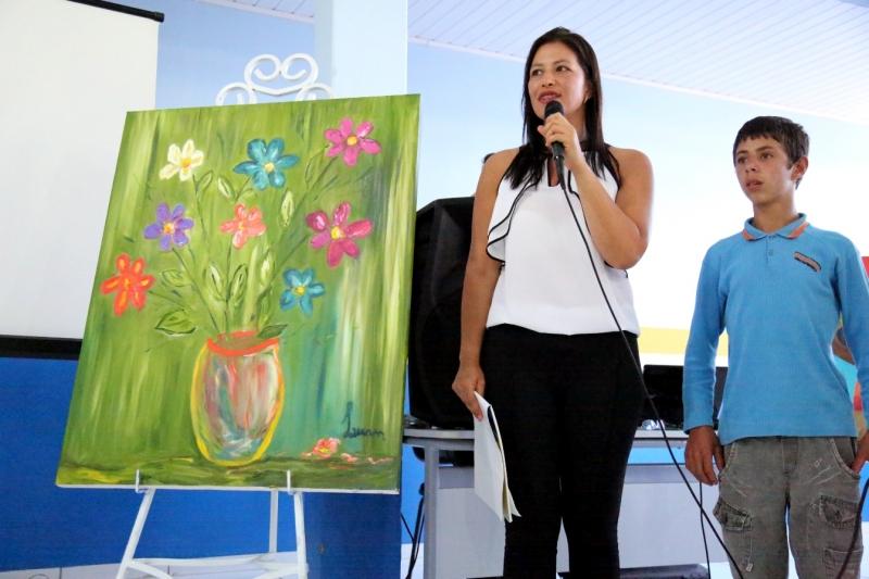 Projeto Arte por toda parte Patrícia Reis de Souza