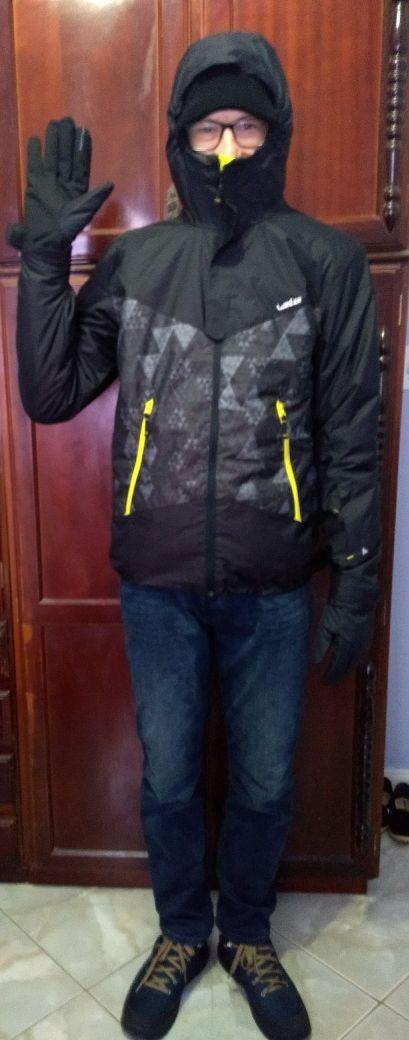 Professor garante estar preparado para o frio de Michigan