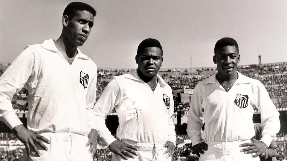 Mengálvio, Coutinho e Pelé